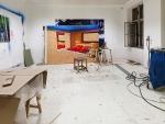 12.10.2009 / 19:10   Atelier Paul Horn, Wien, Foto auf Alu-Dibond, 240 x 180 cm