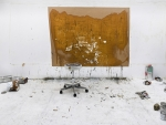 01.10.2009 / 15:56   Atelier Clemens Wolf, Wien, Foto auf Alu-Dibond, 240 x 180 cm